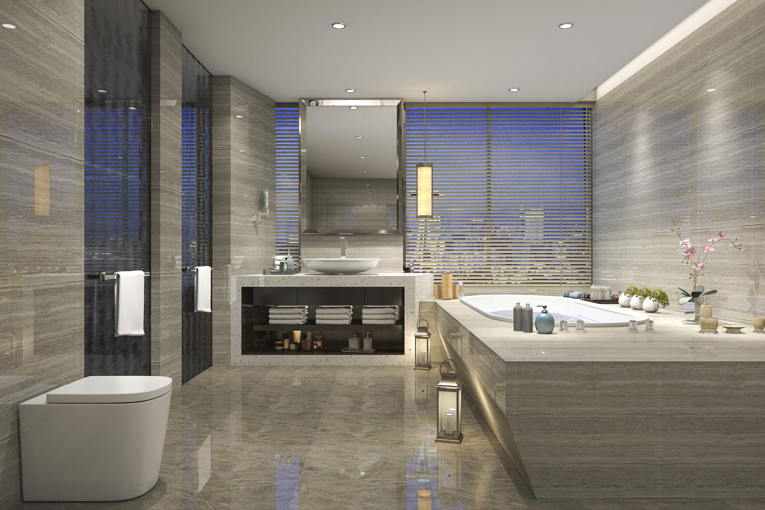 id boiton architecture intérieure salle de bain